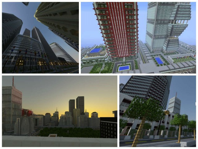 minecraft titan city