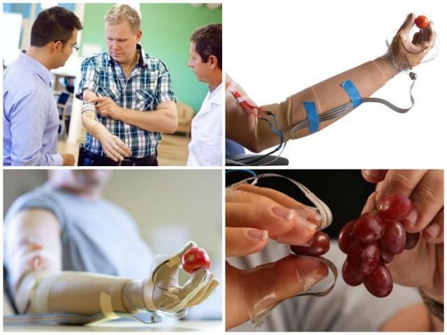 sensetive bionic hand