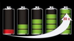 recharge akkumulator 30 sekonds
