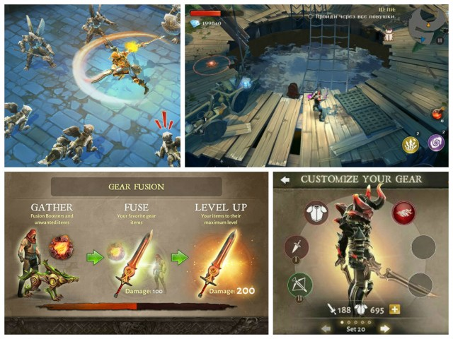 dungeon hunter 5 25 free android games 2015