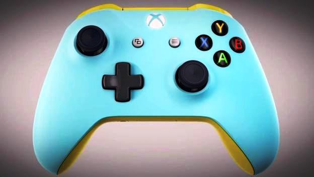 x-box color controller