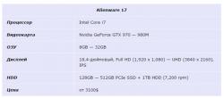 Alienware 17 t