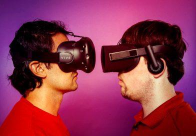 Oculus Rift или HTC Vive? Какой VR-шлем выбрать?