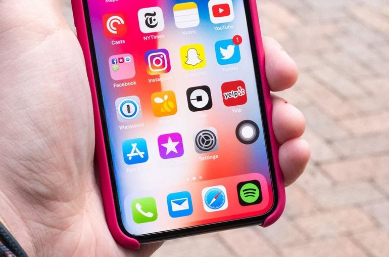 Как использовать виртуальную кнопку Home в iPhone X
